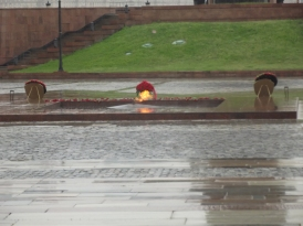 An eternal flame for WW2 victims