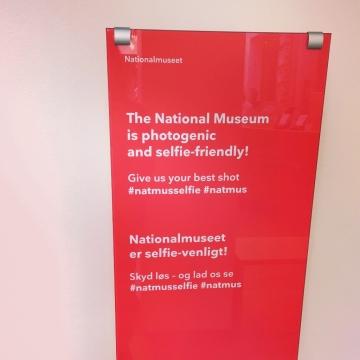 #letmetakeaselfie The National Museum is selfie-friendly