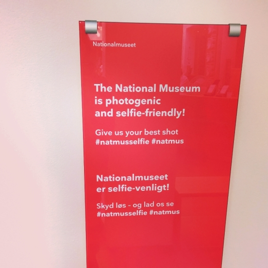 #letmetakeaselfie The National Museum is selfie-friendly